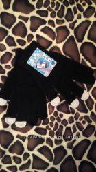 Перчатки для сенсорных экранов трикотажные