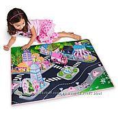 Развивающий игровой коврик Дисней, фигурка Минни и Дейзи с машинкой