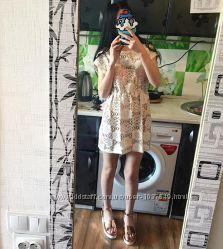 Женская пляжная туника платье Zara