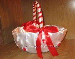Корзина для конфет или лепестков роз
