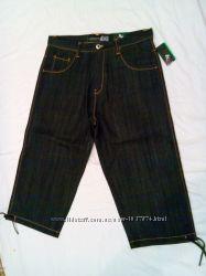 Бриджи джинсовые, мужские, широкие, Dodeca разм. 36