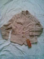 Пиджак катоновый на девочку 8 - 10лет, Италия