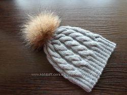 Вязаная шапка, ручная работа
