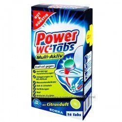 Таблетки для чистки унитаза G&G Power WC 16 таблеток