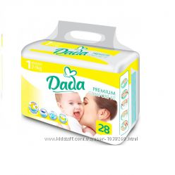 Подгузники Dada Little 1 Extra Soft 2-5кг. 28шт