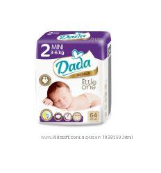 Подгузники dada new premium2 64шт 3-6кг