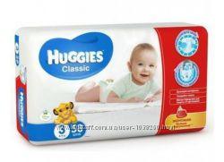 Подгузники Huggies 3 Classic 4-9 кг 58шт