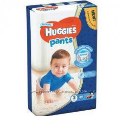 Трусики-подгузники Huggies pants 3 mega для мальчиков 44шт