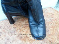 кожаные, стильные, удабные сапоги