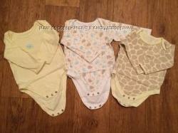 Бодики mothercare прикольной расцветки для девочки или мальчика