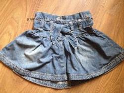 Юбка джинсовая для девочки e-vie angel