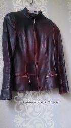 Женская кожаная куртка турция