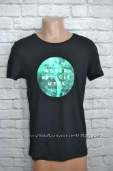 Трикотажная футболка Н&М, S