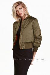 Куртка бомбер, H&M, S демисезон