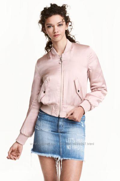 Утепленный бомбер, H&M, M куртка