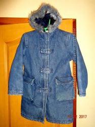 джинсовое пальто NEXT