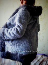 Шуба стрижений кролик 44-46 р