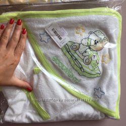 Мягкое полотенце для новорождённого