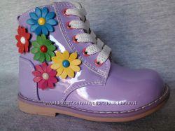 Демисезонные ботинки девочка Калория, 21-30