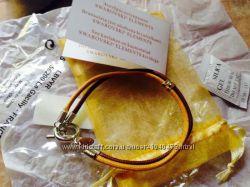 Кожаный браслет с кристаллом Swarovski от Ив Роше