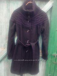 шикарное теплое шерстяное пальто Vila Clothes