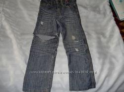 Клевые джинсы и штаны на 4-5, 6-7