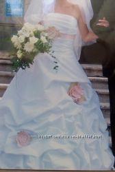 Свадебное белое платье р. 42-46