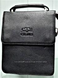 Стильная мужская сумка на плечо CTR BAGS 7988 L Black