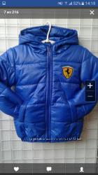 Куртка детская на синтепоне, демисезонные, размер 116