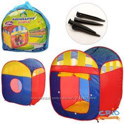 Детская игровая палатка-куб, домик, М 1421. , 90-85-105см .