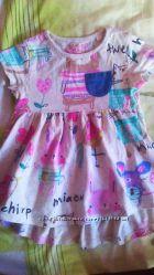 Платье Next 9-12 мес. 74-80 р.