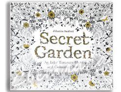 Розмальовка раскраска антистрес Garden или Forest, тонкий переплет