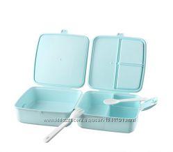Ланчбокс контейнер для еды, с вилкой и ложкой