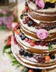 Свадебные торты на заказ в Харькове