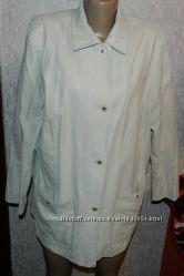 тонка кремова куртка-піджак