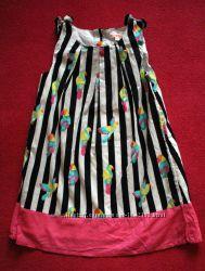 Платье Попугайчики