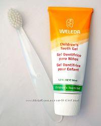Weleda зубная паста гель для детей в наличии