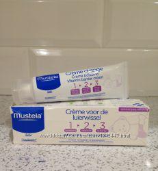 Mustela защитный крем под подгузник 1 2 3