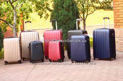 Большой дорожный чемодан Велика якісна валіза на колесах Киев наложееый