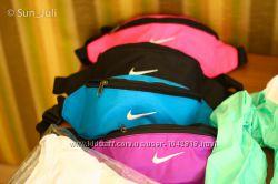 Акция Сумка спортивная Nike на пояс, на плечо, барыжка, бананка Киев