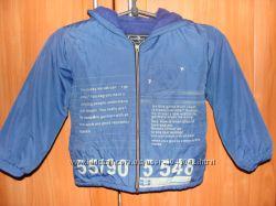 Продам куртку деми на флисе на мальчика 3-4 года