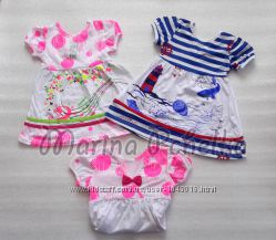 Платья летние для девочек от 80 до 110 см