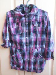 Туника рубашка для девочки