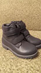 Классические ботинки для юного джентельмена, р 25, 26, 29, Евро зима