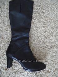 Hogl Сапоги женские демисезонные кожаные оригинал
