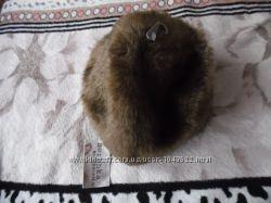 Шапка женская зимняя меховая брендовая