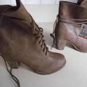 Ботинки полуботинки ботильоны женские демисезонные новые Bershka