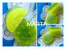 Лаймово-яблочный микс Мыло ручной работы