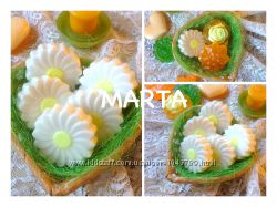 Ромашковое мыло набор на подарок