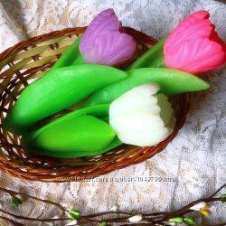 Подарок. Сувенирное мыло Тюльпан. Натуральное мыло ручной работы